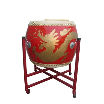 Premium Dragon Tanggu Tang Drum Lion Dance Drum Traditional Chinese Drum for Beijing Opera
