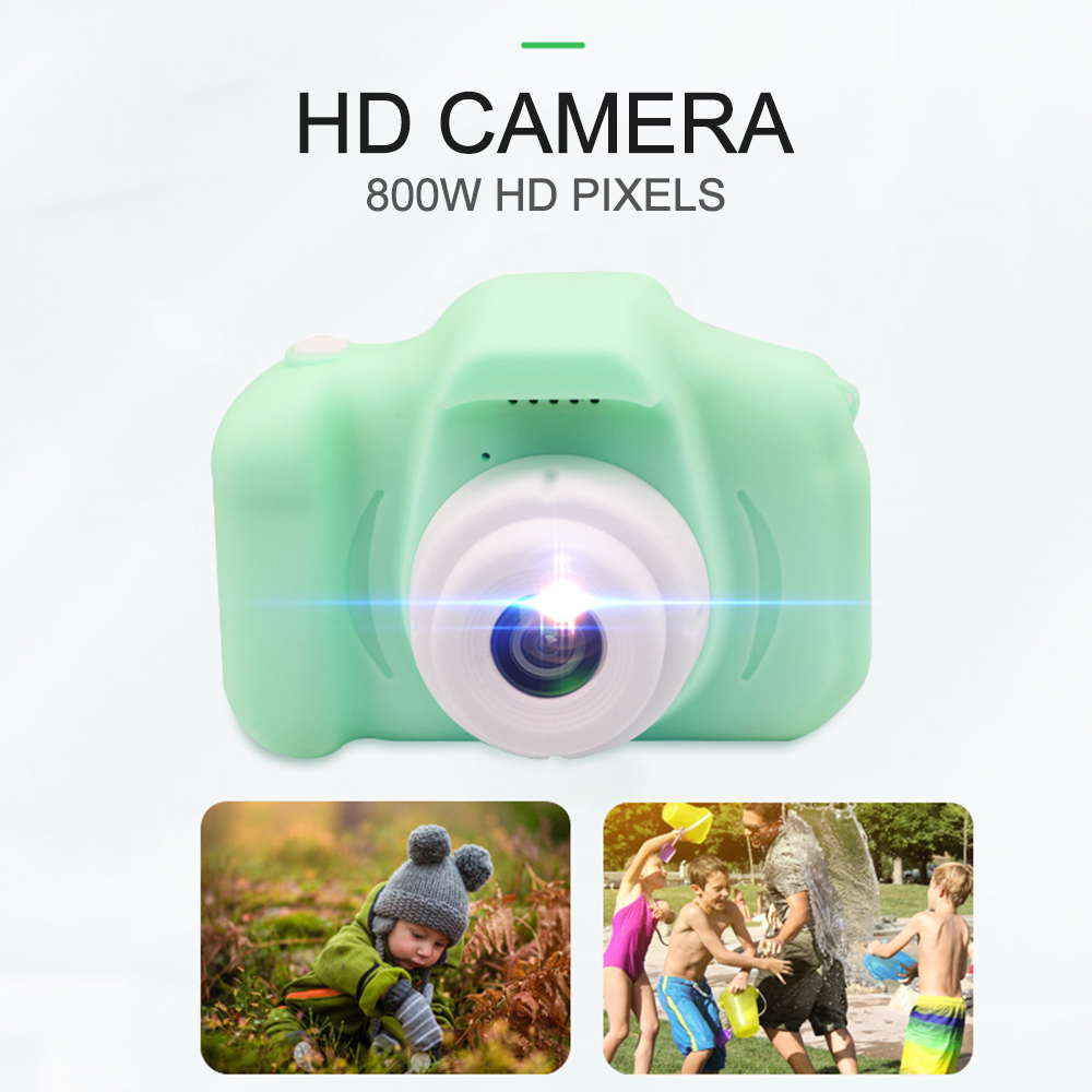Child Camera HD Digital Camera 2 Inch Cute Cartoon Camera Toys Children Birthday Gift 800w Child Toys Camera