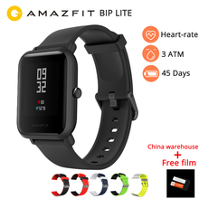 Amazfit Bip Lite Smart Watch English Version Huami LITE Men 45 Days Battery Life 3ATM Waterproof