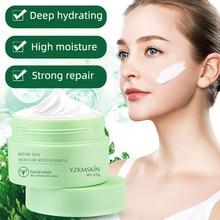 Placenta Resurrection Grass Mask Anti-Aging Moisturizing Nutrition Deep Hydration Nicotinamide Sleep Skin Care