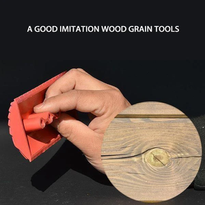 Diy-Tool-Set Grain-Painting-Tool Wall-Texture Wood Home-Decoration Imitation-Wood Rubber