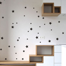 38pc Stars Wall Sticker For Kids Room Baby Nursery Bedroom Stars Kids Wall Sticker Room Wall Decoration Art Wall Decals Mural