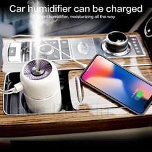 Prevent indoor skin dryness in the car USB steam air humidifier aroma diffuser mini purifier aromatherapy essential oil