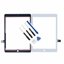 цена на A1893 A1954 is for iPad 6th Gen 2018 Ver. Touch screen digitizer glass replacement plus a set of free tools