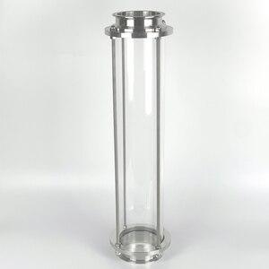 "Image 1 - Clamp 3 ""OD91mm Glas Spool Rohr L = 600mm. Lange Dioptrien, Anblick Glas Turm"