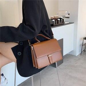Image 3 - Burminsa Style coréen femmes sacs à main grande capacité femme sacs à bandoulière Crocodile modèle PU dames sacs de messager hiver 2020
