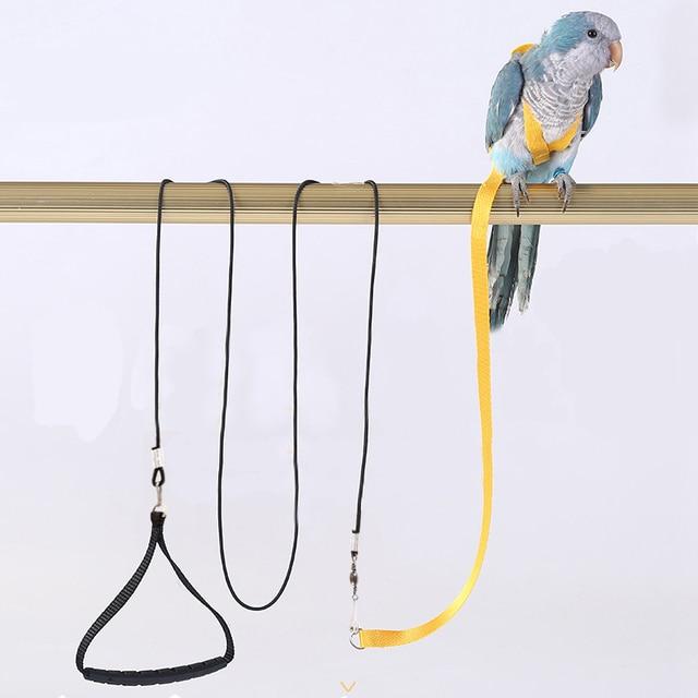 Anti-bite Flying Training Rope Parrot Bird Pet Leash Kits Ultralight Harness Leash For Budgerigar Lovebird Cockatiel Small Birds 1
