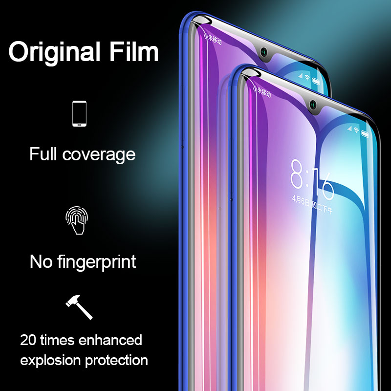 Image 5 - 2pcs Screen Protector Hydrogel Film For Xiaomi Redmi note 7 8 5 pro Protective Film For Redmi note 7 4X 7A K20 pro Not Glass-in Phone Screen Protectors from Cellphones & Telecommunications