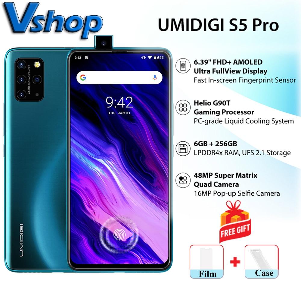 UMIDIGI Helio G90T 256GB GSM/LTE/WCDMA NFC Pump Express3.0 Octa Core Fingerprint Recognition