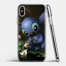 Stunning Silicone Phone Case For Samsung Galaxy J1 J2 J3 J4 J5 J6 J7 J8 Plus 2018 Prime 2015 2016 2017 cute cartoon Stitch(China)