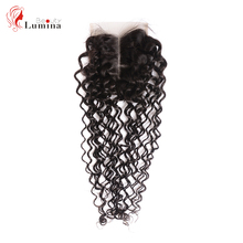 Jerry Curl Human Hair 4 #215 4 Lace Closure Peruvian Hair With Closure Remy Hair Extensions Short Human Hair Beauty Lumina Hair cheap Curly CN(Origin) Other 130 Brazilian Hair Hand Tied Swiss Lace Darker Color Only 1 Piece Only Light Brown Pure Color 4 x 4