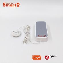 Smart9 ZigBee Wasser Leckage Detektor Arbeits mit TuYa ZigBee Hub, Flut Sensor Batterie Powered Alarm zu Smart Leben App