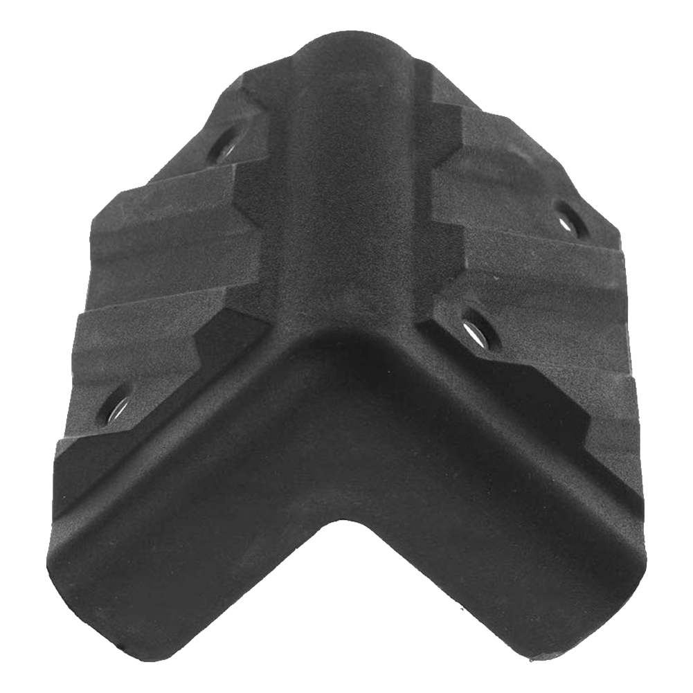 8pcs/set Home Guitar Stage Anti Collision Speaker Corners Black Accessories Wear Resistant Cabinet Wrap Hard Amplifier Protector