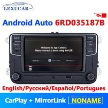 Android Auto Carplay Noname 6RD 035 187B MIB Autoradio RCD330 Plus RCD340G Pour VW Golf 5 6 Jetta MK5 MK6 CC Tiguan Passat Polo