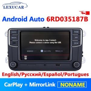 RCD330 Plus RCD330G Android Автомагнитола Noname 6RD 035 187B автомобиль MIB радио для VW Golf 5 6 Jetta MK5 MK6 CC Tiguan Passat Polo
