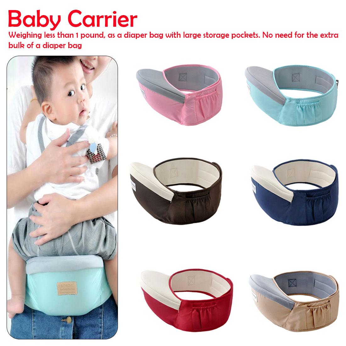 0-1Years Baby Hip Seat Waist Stool Walkers Hold Waist Belt Backpack  Kids Infant Comfort Hipseat Waist Seat