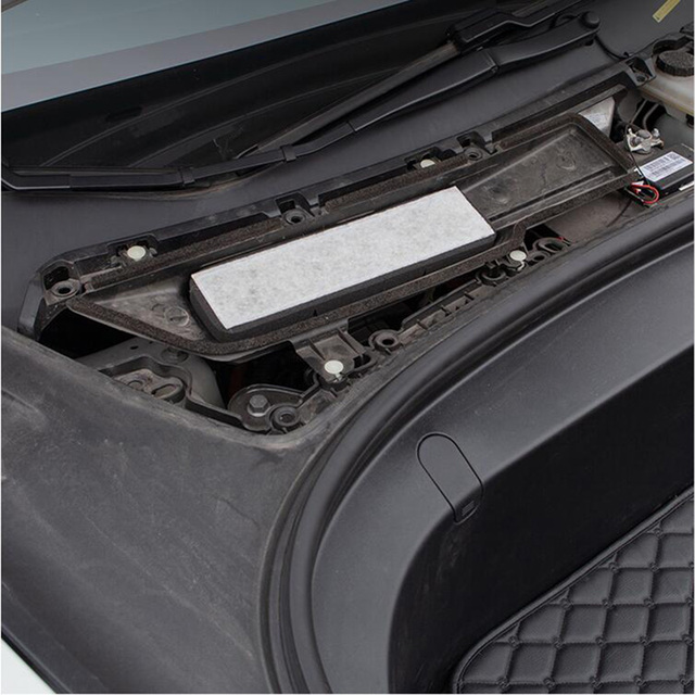 Car Air Conditioner External Intake Filter Element Air inlet screen For Tesla Model 3 Model Y 2017-2020 effective blocking PM2.5 3