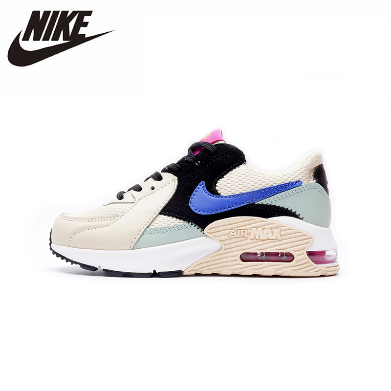 Nike Air Max 90 New Arrival Kids Shoes Original Sports Lightweight Comfortable Children Shoes #CD5432-200