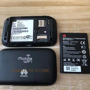 Image 5 - Unlocked yeni HUAWEI E5577 E5377 4G LTE Cat4 E5577Cs 321 E5377s 32 1500mah mobil Hotspot kablosuz WIFI yönlendirici cep