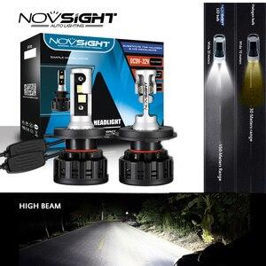 Image 1 - NOVSIGHT 6500K H4 LED H7 H11 H8 HB4 H1 H3 HB3 9005 9006 9007 H13 Auto Car Headlight Bulbs 60W 18000LM Super Bright Car Light