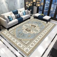 Retro Carpets Living Room Large Area Rugs Bedroom Turkey American Persian Style Rugs and Carpet Study Sofa Coffee Table Mat