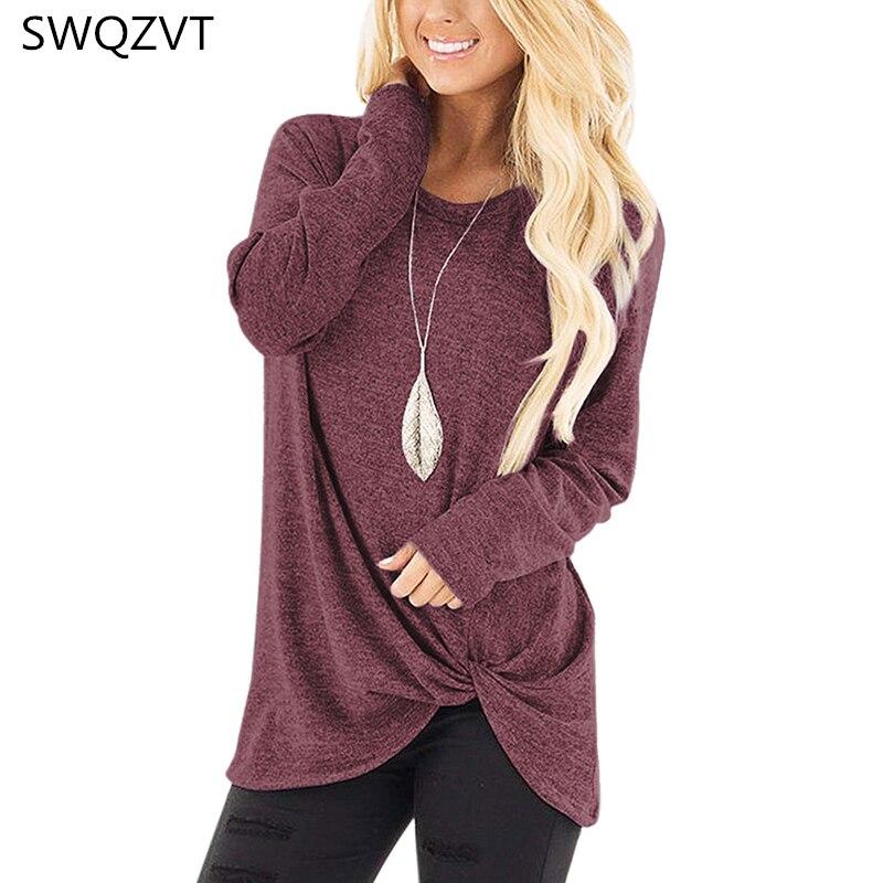 Damska koszulka z długim rękawem casual o-neck slim jesienno-zimowa damska koszulka topy odzież damska czarna szara koszulka damska streetwear 1