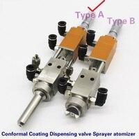 Válvula de alta frequência do aerossol do atomizador do pulverizador da válvula de distribuição do revestimento conformal