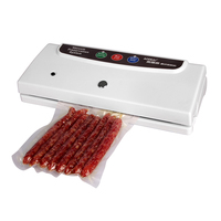 US/RU Free Shipping 110V/220V Household Food Vacuum Sealer Packaging Machine Semi automatic Vacuum Packer Including 10Pcs Bags