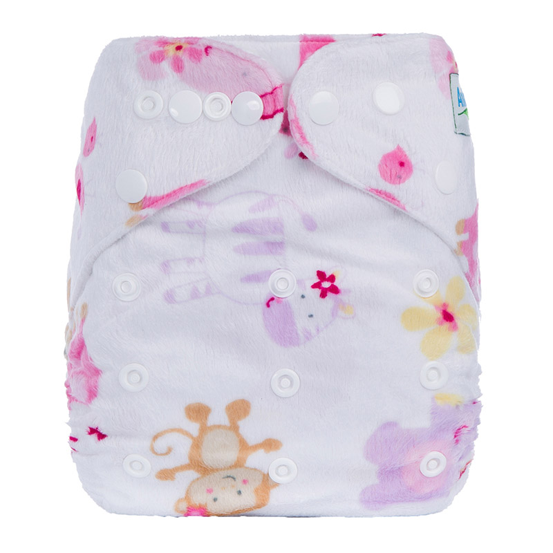 Retail Prefold Cotton Organic For Cloth Pocket Diapers Reusable Nappies Washable China D12