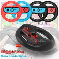 2 Pcs Nintend Switch Big Steering Racing Simulator Wheel Nintendos SwitchStand for Nintendo Switch Mario Kart Game