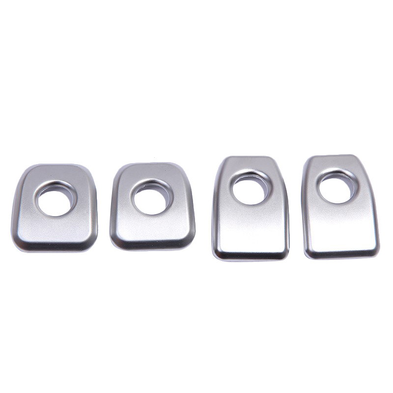 ABS Matte Chrome Car Door Lock Cover Trim For BMW X5 F15 2014 2015 For X6 F16 2015 Car Styling Accessories Stickers