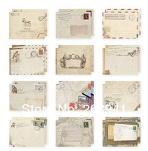 12pcs/lot Kawaii Vintage European style mini envelope school office supplies 100*80mm 12pcs hgh20ha 100