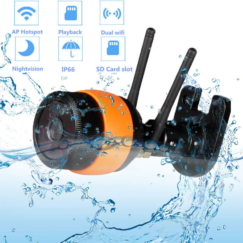 720P / 960P անլար բացօթյա փամփուշտ IP - Անվտանգություն և պաշտպանություն - Լուսանկար 1
