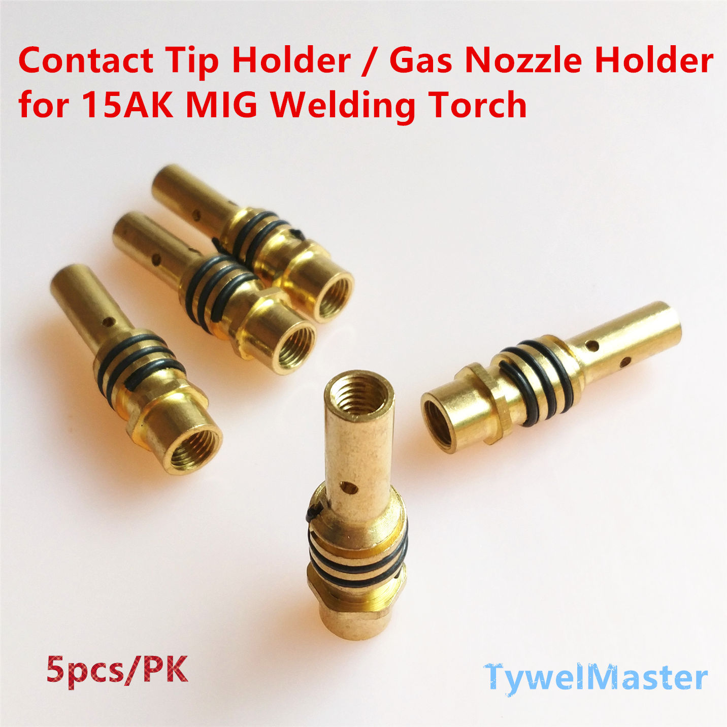 15AK Gas Nozzle Holder With Nozzle Spring For MIG/MAG Welding Torch Contact Tip Holder Of MB 15AK Welding Gun