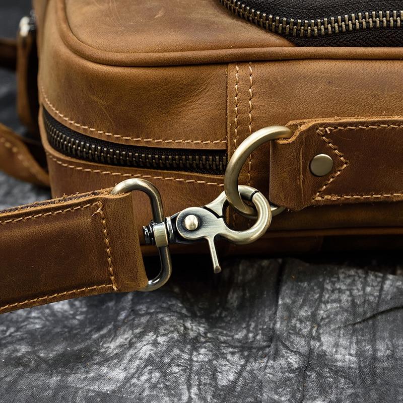 "H3ecec212c2434dde9639776a95cbee4e1 MAHEU Men Briefcase Genuine Leather Laptop Bag 15.6"" PC Doctor Lawyer Computer Bag Cowhide Male Briefcase Cow Leather Men Bag"