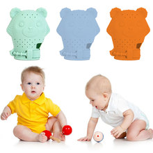2020 Hot Sale Toddler Toys 1pcs Food Grade Silicone Teethers Infant Teething Gloves Anti-bite Hand New-arrival Baby Molar