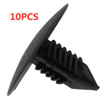 10 Pcs/set Auto Pengikat & Klip Wheel Arch Lining Splash Guard Trim Klip untuk Renault Clio MK2 Scenic Megane(China)