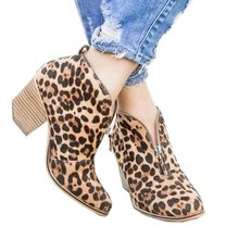 women ankle boots pumps shoes woman chunky high heels gladiator sapato feminino chaussure round toe vintage booties zip wxz114 2018 retro style handmade shoes women chunky heel pumps round toe patchwork genuine leather high heels sapato feminino