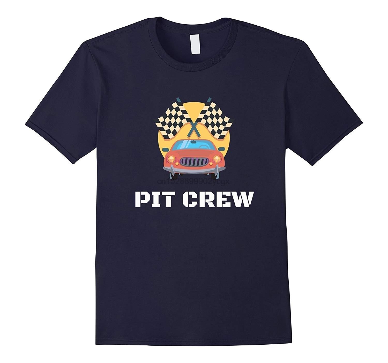 Новинка, мужская рубашка, ямы футболка Crew нам удалось выбрать Обучающие гоночные машинки стороны флаг для родителей