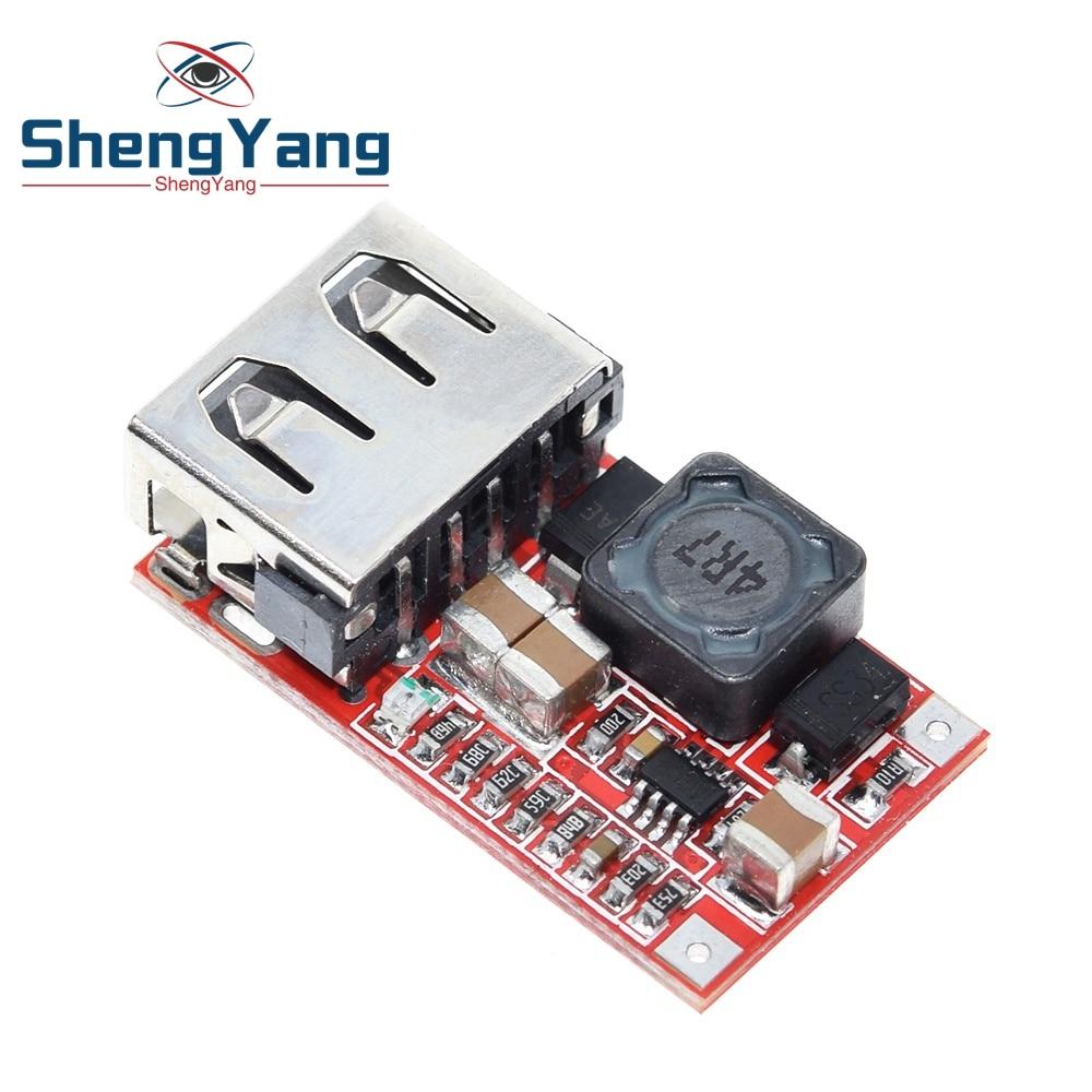 ShengYang Fine 6-24 в 12 В/24 В до 5 В 3 а автомобильный модуль зарядного устройства USB DC понижающий преобразователь 12 В 5 в хороший модуль питания