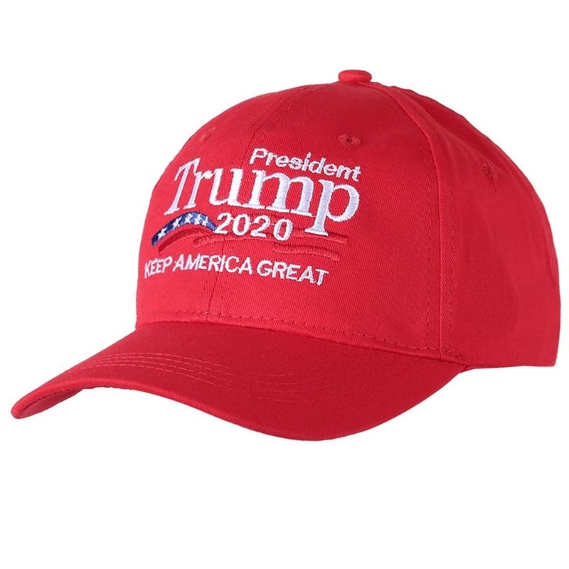 Donald Trump 2020 Hat Keep America Great Embroidered Unisex Baseball Caps B8C4