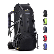 Waterproof Travel 45+5L Hiking Backpack, Sports Backpack For Women Men Outdoor Camping Climbing Bag, Mountaineering Rucksack
