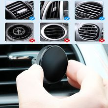 Magnetic Phone Holder for Redmi Note 8 Huawei in Car GPS Air Vent Mount Magnet Stand Car Phone Holder for iPhone 7 11 Samsung
