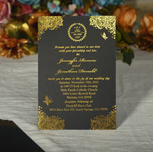 WISHMADE Hot stamping inside paper, gold foil inner page, silver foil inner personalized design printing gold silver red hot stamping foil paper laminator laminating transfer on elegance laser printer craft paper 50pcs 20x29cm a4