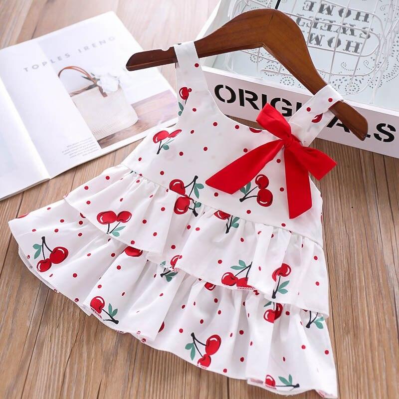 H3ed03090b3b14aa296e84664823ad484K Humor Bear Girls Clothing Set 2020 Korean Summer New Ice Cream Bow T-shirt+Pants Kids Suit Toddler Baby Children's Clothes