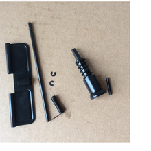 Steel  Forward Assist AR-15 Receiver Parts M16 M4 .223 Forward Assist Assembly Dust Cover Ejection Port Cover push button Kit
