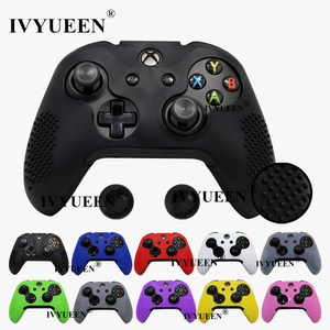 Image 1 - IVYUEEN 15 Colors Silicone Cover for Microsoft Xbox One X S Slim Controller Studded Protective Case Skin with Thumb Stick Grip