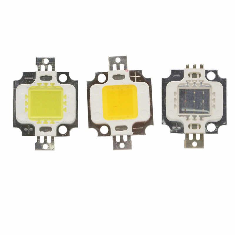 Lumière de lampe d'ampoule de puce LED de puissance élevée 10W 20W 30W 50W 100 W perle légère blanche chaude de rvb SMD 10 20 30 50 100 W Watt pour la lumière de nourriture