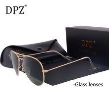 DPZ Glass lenses women sunglasses men 58mm 3025 Mirror G15 Gradient Gafas Brand