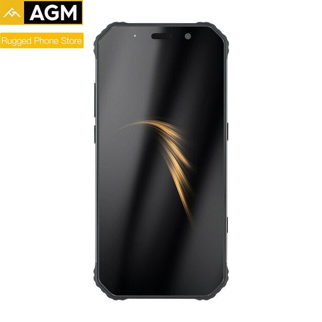 AGM A9 Rugged Android Smart Phone 4GB 64GB 5.99 Inch 18:9  Waterproof 5400mAh Mobile Phone IP68 Octa Core Dual SIM NFC